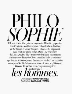 Sophie Marceau by Mario Testino for Vogue Paris May 2014 _