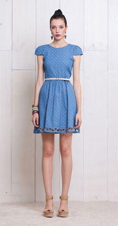 Vestido Triângulos | Vestidos | Antix Store