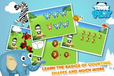 Dr. Panda, Teach Me! - FREE - Educational Preschool Animal Learning Game for Toddlers (2 to 5 years old)  ($0.00) FREE version of Dr. Panda, Teach Me! They will discover an animated interactive world full of nice animals in which they can try 4 of the 10 fun educational games included in the complete version.   In the full version: ★ Educational Games: Patterns & Matching, Memory & Logic, Puzzles, Numbers, Colors, Differences