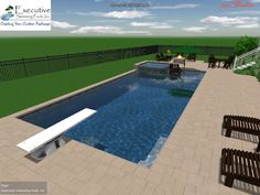 Beautiful Roman Swimming Pool Designs - Pool Diving Boards With Designs