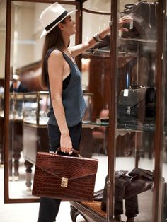 The Briefing Brooks Brothers Briefcase