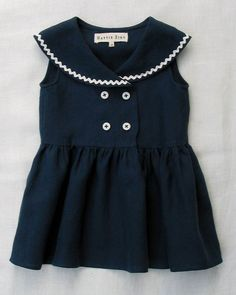 Hattie Bird sailor dress