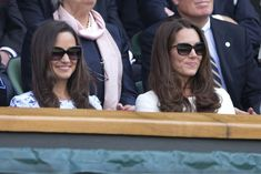 Kate Middleton and Pipa at Wimbledon