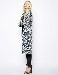 Just Female Leopard Kimono