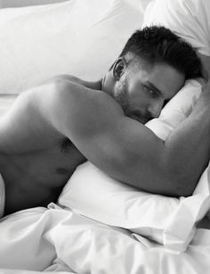 w magazine photos 0001 Joe Manganiello, Pharrell, David Gandy + More Go Shirtless in Bed for W Magazine