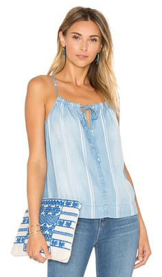Shop for Bella Dahl Front Tie Cami in Sundrenched Wash at REVOLVE. Free 2-3 day shipping and returns, 30 day price match guarantee.