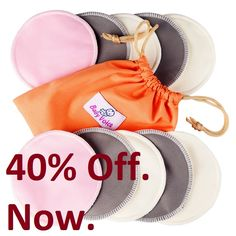 READY? 40% OFF! Pick Your Pack Of New Upgraded Version Of Softest Bamboo Nursing Pads. You Get 10 Pieces + 4 Great Bonuses. Time Limited Offer Now On Amazon. Click Right Here To Get The Deal.