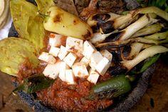 Molcajete de Res   La Cocina Mexicana de Pily