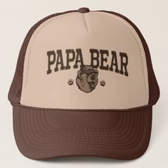 Papa Bear Gift Ideas for Dad Trucker Hat  diy kids fathers day gifts, mothers day gift ideas, fathers day food gifts #blackownbusiness #dontwaitlastminute #womenofpower Kids Fathers Day Gifts, Fathers Day Ideas For Husband, Grandparents Day Gifts, Father Presents, Fathers Day Shirts, Fathers Day Cards, Grandma Gifts, Gifts For Dad, Bear Design