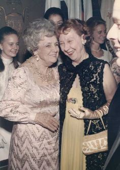 First Lady Mamie Eisenhower, right, attends the 1967 International Debutante Ball in NYC, where her grandson, David Eisenhower, was escorting his fiancé Julie Nixon, who was making her society debut. American Presidents, Us Presidents, Dwight Eisenhower, Powerful Women, Genealogy, Denver, Royals, Balls, Families