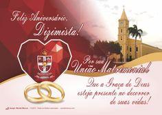 Cartão do Dizimista aniversariante de Casamento - Florânia-RN (A pedido do Pe. Janilson)