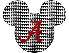 Need some creative wording for t-shirts! Think Alabama & Disney Mickey Mouse Shirts, Mickey Head, Mickey Minnie Mouse, Disney Shirts, Disney Outfits, Disney Clothes, Alabama Football Shirts, Roll Tide Football, Bama Fever
