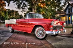 1955 Chevy bel air Convertible HDR | Flickr - Photo Sharing!