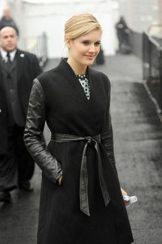 Maggie Grace Photos - Maggie Grace at Fashion Week in NYC - Zimbio