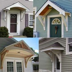 Front door awnings for home a portico country chic porch house and awning ideas wood . front door awnings for home Porch Roof, Side Porch, Side Door, Main Door, Porch Awning, Diy Awning, Awning Over Door, Patio Awnings, Window Awnings