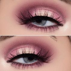 Soft Pink Smokey Eyes Makeup #smokeyeyes Do you have grey eyes? Find all makeup and image related facts here. Learn how to pick eyeshadow for light, dark grey eyes. #greyeyes #eyeshadow #glaminati #lifestyle