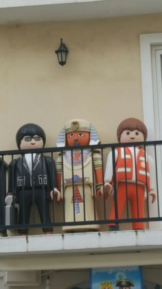Door Team at The Lego Disco in downtown Zakynthos