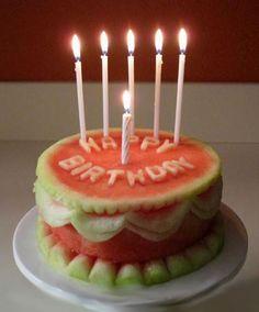 Watermelon cake. Raw Food