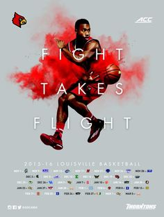 2015-16 Louisville Men's Basketball Poster