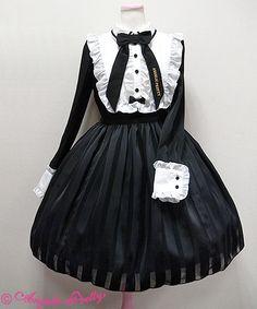 Vintage Doll長袖ワンピース