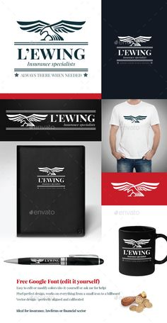 Eagle vector logo template by RedoPen A classy, timeless and stylish logo design ideal for insurance companies, law firms, financial institutions, lenders. An eagle or Logo Design Template, Logo Templates, Vector Design, Pet Health Insurance, Insurance Companies, Hawk Logo, Eagle Vector, Portfolio Logo, Bird Logos