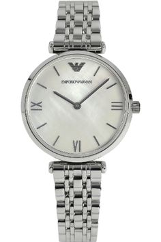 33338a73192 Emporio Armani Ladies Gianni T-Bar Watch AR1682