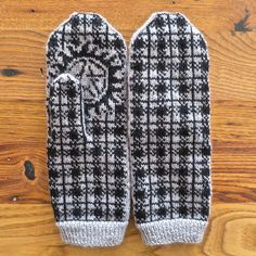 Project: Winchester Plaid, Anti-Possession Mittens - Omg, this cracked me up! I loved Supernatural when it first came out but life got in the way. I really do love these! How creative to blend such prominent elements in a subtle way!