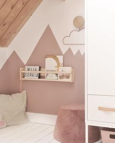 Mila her big girl room! Some time ago she got a big bed and . Mila her big girl room! Some time ago she got a big bed and she … – # Check more at haar. Baby Room Decor, Nursery Room, Boy Room, Kids Room, Bedroom Decor, Big Beds, Little Girl Rooms, My New Room, Girls Bedroom