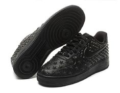 low priced ff23f 24042 Nike Air Force 1 Vach Tech Independence Day Star All Black Air Force 1, Nike