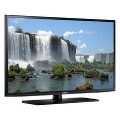 """With the Samsung 60 in. Smart LED HDTV, """"Smart"""" is only the beginning. Navigate effortlessly through the Samsung Smart TV to find your favorite shows, movies, sports and games. Smart Tv Samsung, Samsung Mobile, Dvb T2, Internet Tv, Hifi Video, Tv 40, Tv Led 32, Shopping, Miniature"""
