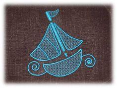 Tout fraîchement numérisé et testé pour vous, voici un motif d'un petit bateau qui je l'espère vous portera loin, loin vers vos idées créatives. A télécharger ici : link PS : une petite requête : pour celles qui ont déjà brodé les motifs que j'ai numérisé,...