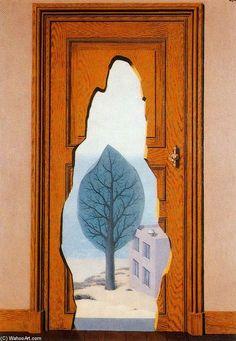 """La perspectiva amorosa"" Rene Magritte"