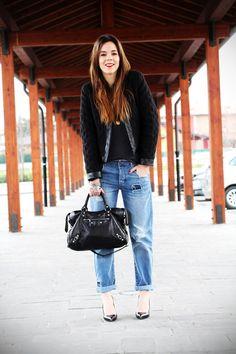Jeans boyfriend Asos per il primo giorno al Franciacorta OutletIrene's Closet – Fashion blogger outfit e streetstyle