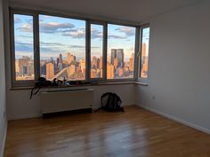 Moving from NYC soon so movers took everything today - it's strange being in an empty apartment for a couple of days.