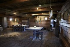 To eat at Faviken restaurant, and overnight in one of their little rooms. Interior image of Faviken restaurant, Sweden, Magnus Nilsson