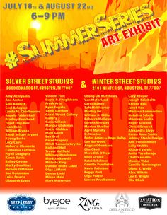 Looking forward to seeing everyone at Gallery 3 this Friday July 18, 6-9pm, 2101 Winter Street, c3.