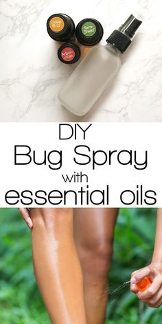 Make an easy homemade bug spray with essential oils this summer. This diy bug spray really works and it smells great! Essential Oil Spray, Citrus Essential Oil, Doterra Essential Oils, Essential Oil Blends, Homemade Bug Spray, Bug Spray Recipe, Beauty Products That Work, Natural Bug Spray, Natural Beauty Recipes