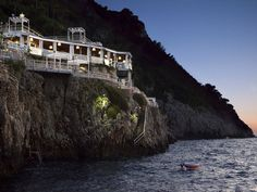 Voted year after year as having one of the world's best spas, Capri Palace Hotel and Spa is an Italian paradise. Among the spa's many offerings is a medicated mud wrap that smooths the skin.