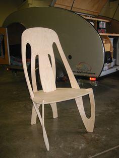 flat pack cnc chair