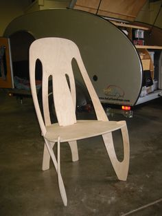 A funky chair made possible through CNC Routing. Make your funky ideas to come alive with Akaar