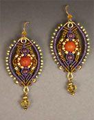 Earrings - http://www.joanbabcock.com/Earring/Earrings.html