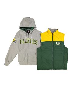 Look what I found on #zulily! Green Bay Packers 4-in-1 Systems Jacket - Men's…