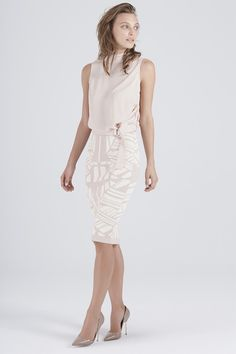 TRAPESE KNIT SKIRT