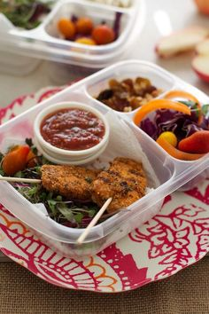 Gluten Free Chicken Skewers Recipe    (makes about 15 skewers) - perfect for a lunch box picnic.