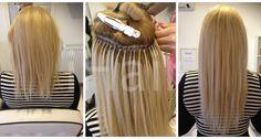 50 cm-es hajhosszabbítás keratinos hőillesztéses technikával 12-es platina szőke színű hajfesték alkalmazásával Techno, Techno Music