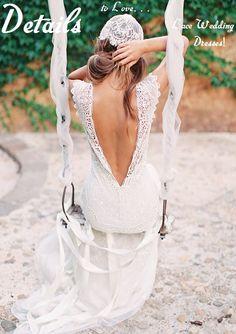 5 beautiful lace wedding dresses | Rustic Folk Weddings