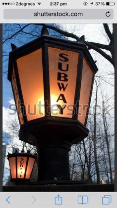 Subway light NYC