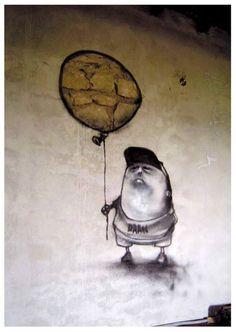. Art Installations, Installation Art, Stencil Art, Stencils, Mind Blow, Brick In The Wall, American Idiot, Graffiti Artwork, Graffiti Characters