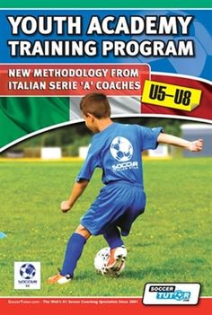 """Read """"Youth Academy Training Program New Methodology from Italian Serie 'A' Coaches"""" by Mirko Mazzantini available from Rakuten Kobo. Youth Academy Training Program Methodology from Italian Serie 'A' CoachesLearn a New Proven Methodology how to c. Training Academy, Gym Training, Training Tips, Soccer Drills For Kids, Youth Soccer, T Is For Train, Soccer Coaching, Kids Sports, Training Programs"""