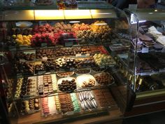 Pikkumakkee confectionery at Kuopio market hall in December 2015.